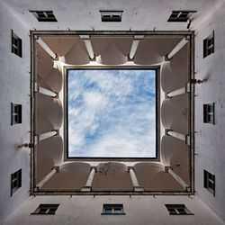Il cielo quadrato