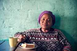 Helmina Biwo, Lange Township, Cape Town