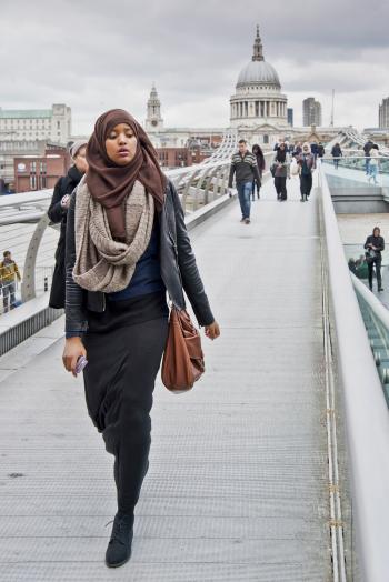 passerella sul Millenium Bridge