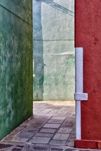 Verde, bianco e rosso