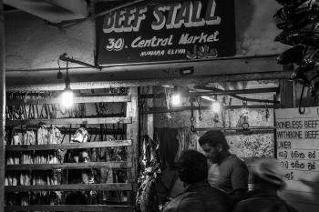 Beef Stall a Nuwara Eliya