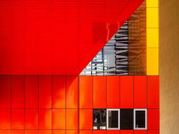 rosso geometrico