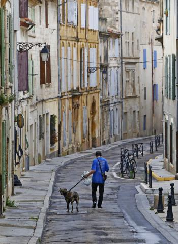 Tra le strade di Arles
