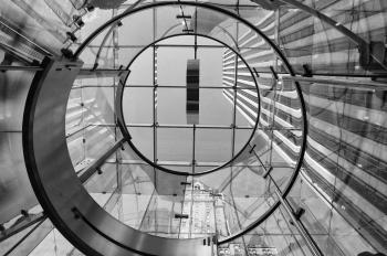 The lift - Apple store, Manhattan, NYC, 2011