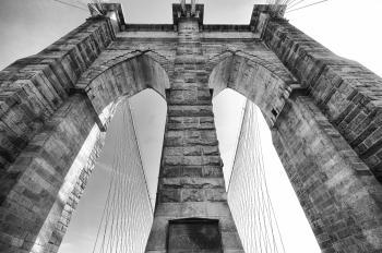 The bridge - brooklin bridge, Manhattan, NYC, 2011