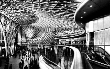 Kings Cross Station. London