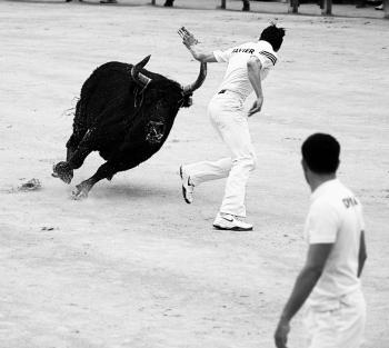 La course camarguaise di Arles