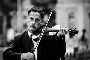 Violinista di strada