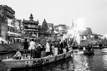 Mother Ganga, from life to death (tra la vita e la morte)