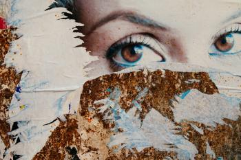 Decollage (a tribute to Mimmo Rotella)
