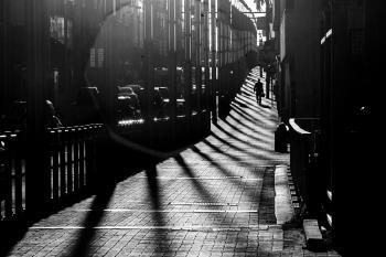 Stretching shadows
