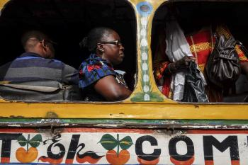 A transporting experience: Senegal's colorful public buses hit the road