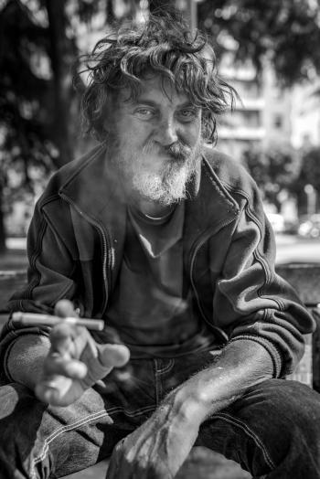 La straordinaria vita da strada di Fabrizio