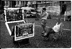 Venditore ambulante, Roma