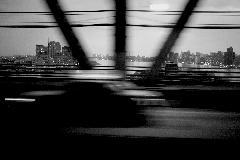 Car on Bridge, New York, 2011