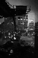 Through Bus Window, New York, 2011
