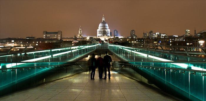 Millenium Bridge (Foto: tecnica HDR)