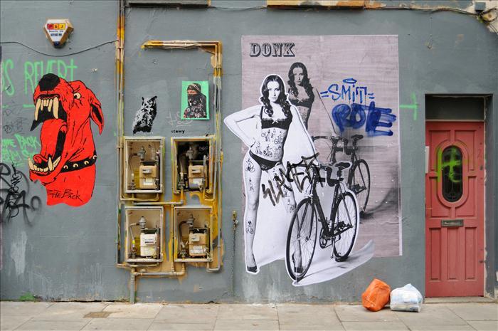 Street Art & Contatori_London