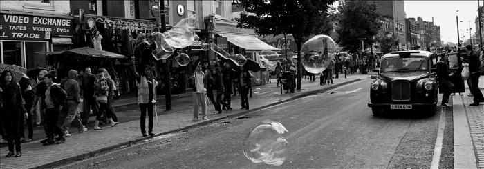 london is a bubble