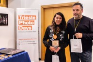 Maurizio Galimberti awards Greta Polimene at Trieste Photo Days 2017
